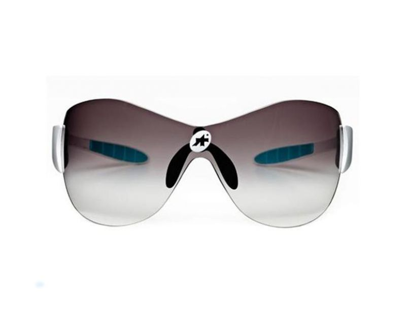 Assos - Zegho Amplify Sonnenbrille - Sonnenbrillen - Performance Schwarz/Weiß Yellow Lens YzUeZa