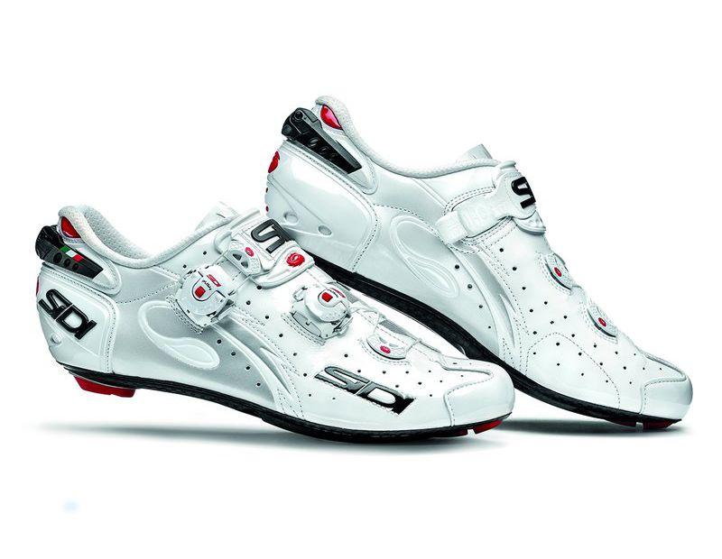 Sidi White Cycling Shoes