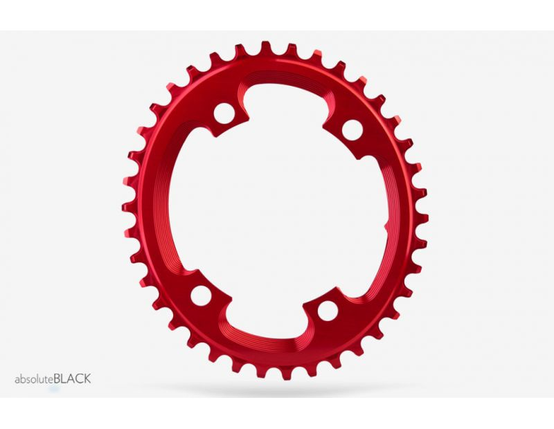 absoluteblack xx1 ovales kettenblatt f r cyclocross 110er. Black Bedroom Furniture Sets. Home Design Ideas