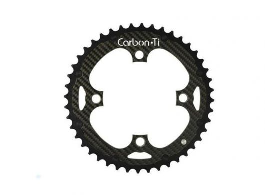 Carbon Ti X-Ring MTB Al/Ca EVO 4-Arm / 104 mm