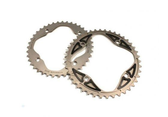 Carbon-Ti X-Ring MTB Full Titanium EVO 4-Arm 120 mm (SRAM...
