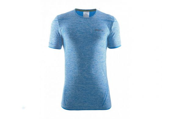 Craft Be Active Comfort Roundneck Shortsleeve Schwedenblau