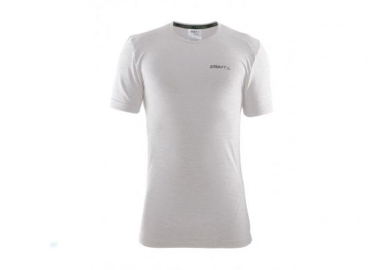 Craft Be Active Comfort Roundneck Shortsleeve grau-weiss
