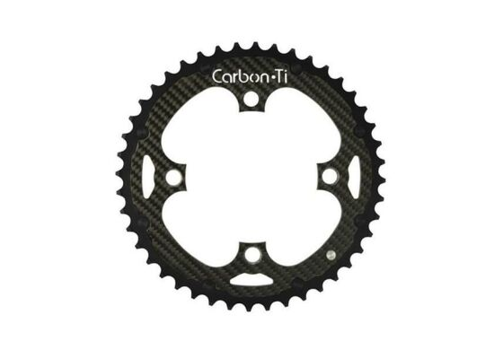 Carbon Ti X-Ring MTB Al/Ca EVO 4-Arm / 104 mm