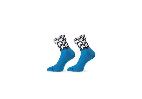 Assos Monogram Socks Evo8 Calypso Blue