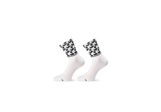 Assos Monogram Socks Evo8 Holy White
