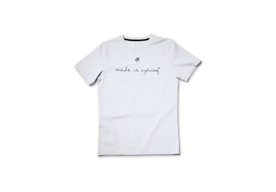"""Assos T-Shirt SS Man """"Made in Cycling"""" Holy White"""