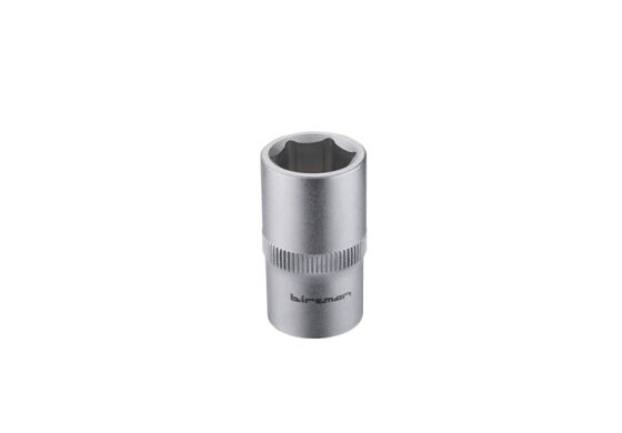 "Birzman 1/2"" Drive 6 point socket, 15mm"
