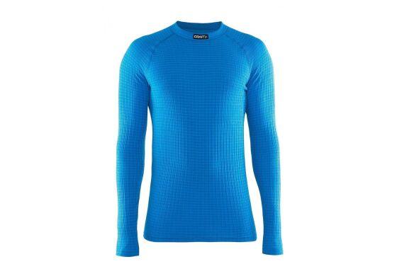 Craft Keep Warm Wool Crewneck Longsleeve Schwedenblau