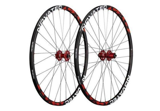 Novatec Laufradsatz Cyclo Cross Disc 130mm