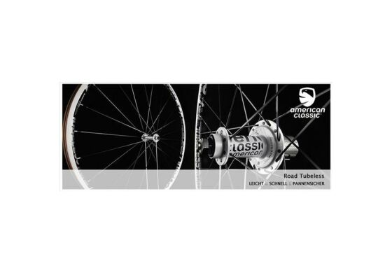 American Classic Road Clincher Tubeless 1179g