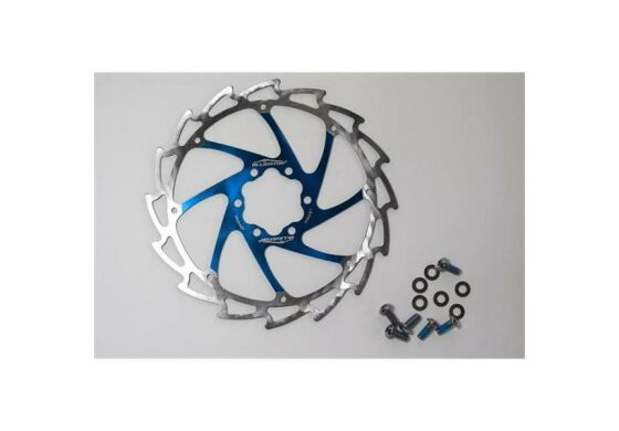 Alligator/Ashima Rotor, Bremsscheibe Windcutter blue 180mm