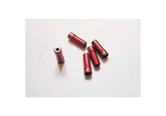 Alligator Endhülse red/rot für 4mm Aussenhülle sealed 5 Stück