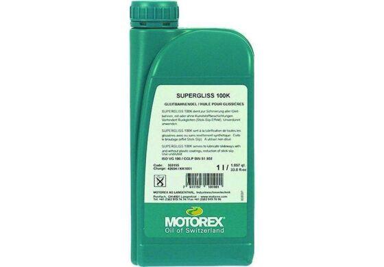 Motorex NEU! Öl Supergliss 100K semi-bath DT 1 ltr.