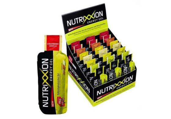 Nutrixxion Energy Gel 8 Stück gemischt