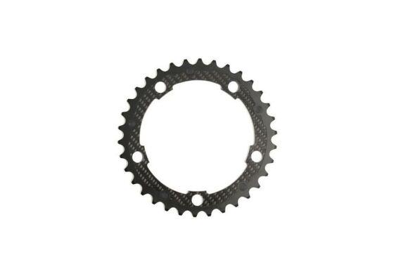 Carbon-Ti X-Ring Road Carbon  5-Arm / 110 mm Shimano kompatibel 53 Zähne außen
