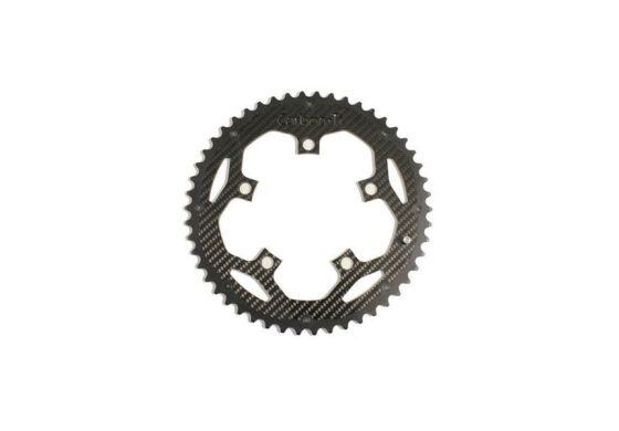 "Carbon-Ti ""X-Ring Road Carbon EVO"" 5-Arm / 130 mm, Shimano kompatibel"
