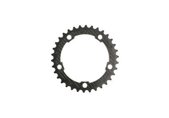 Carbon-Ti X-Ring Road Carbon 5-Arm / 135 mm, Campagnolo kompatibel 50 Zähne außen