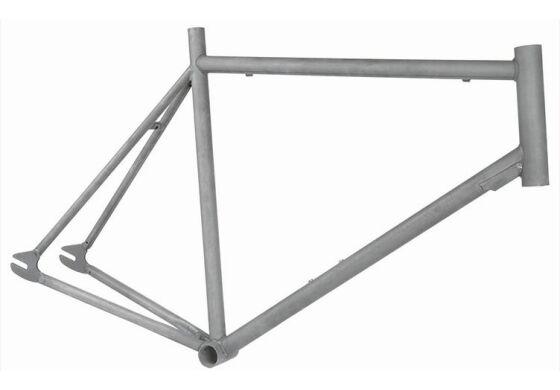 Stahl Rahmen Fixie/Singlespeeder unlackiert