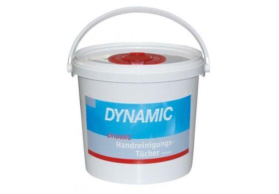 Dynamic Handreinigungstücher, Spendereimer mit 70 Stück