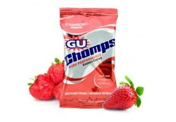 GU Chomps Strawberry (Erdbeere) Kiste 16St.