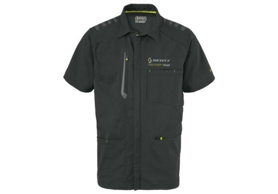 Scott Factory Team Zip Shirt Reißverschlussshirt