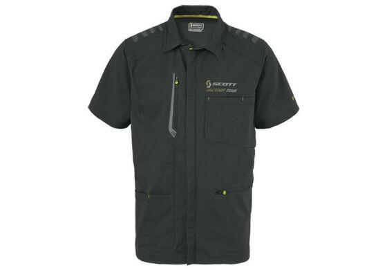 Scott Factory Team Zip Shirt Reißverschlussshirt