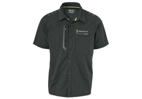 Scott Factory Team Button Shirt Hemd