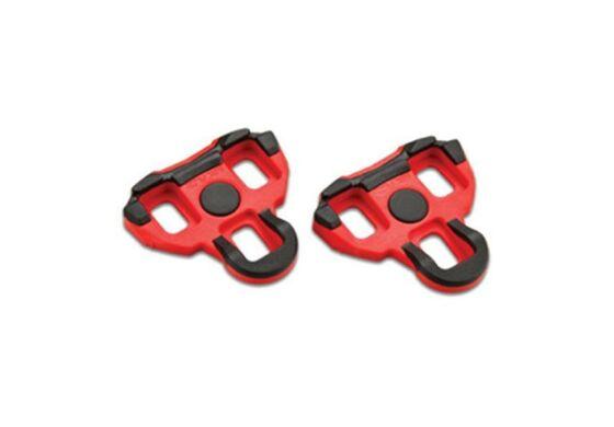 Garmin Vector - Ersatz Schuhplatten rot, mit 6° Bewegungsfreiheit