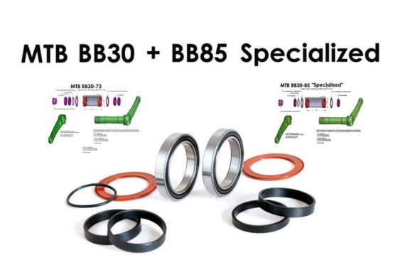 BOR Innenlager Kit BB85/84,5 MTB Specialized KIT