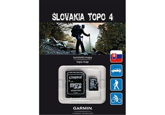 Garmin GPS Karte Topo Slowakei v4 microSD/SD