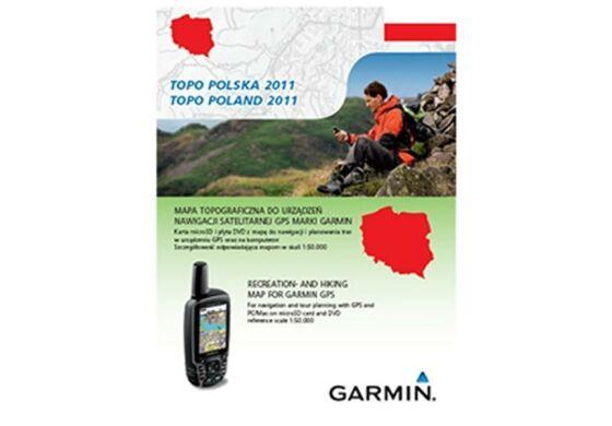 Garmin GPS Karte Topo Poland 2011 DVD+microSD/SD