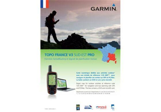 Garmin GPS Karte Topo Frankreich v3 Süd-Ost Pro