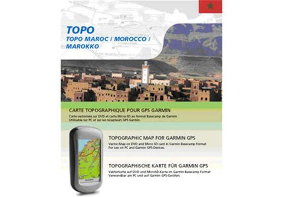 Garmin GPS Karte Topo Marokko DVD