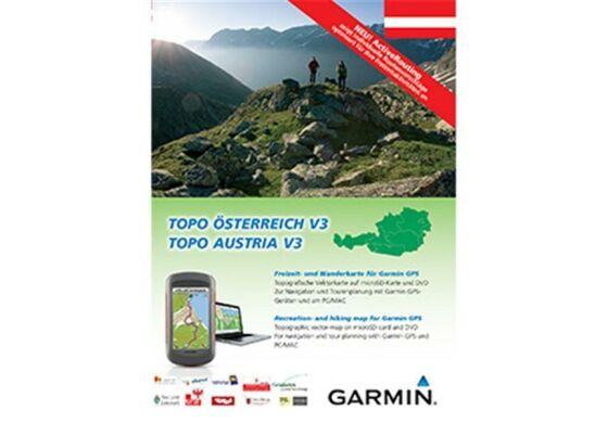 Garmin GPS Karte Topo Österreich v3