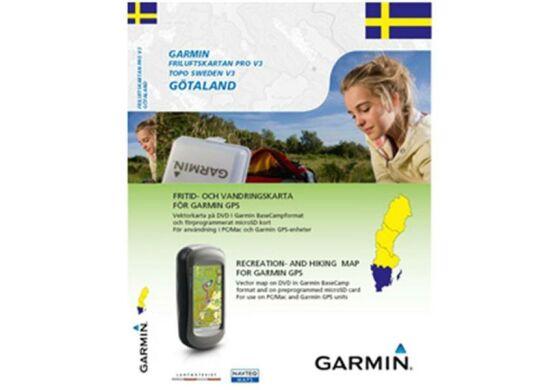 Garmin GPS Karte Topo Schweden v3 Götaland