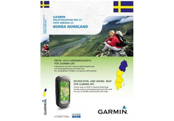Garmin GPS Karte Topo Schweden v3 NorraNorrland