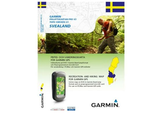 Garmin GPS Karte Topo Schweden v3 Svealand