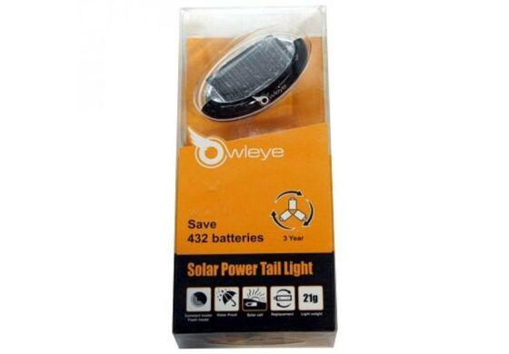 Owleye LED-Solarlicht rot LS-T3