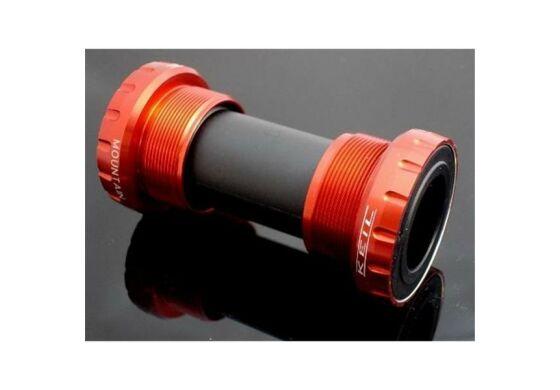 Keil Innenlager Hollowtech II System für MTB-Kurbeln rot