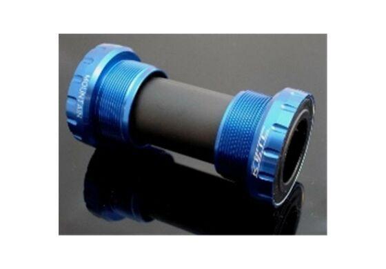 Keil Innenlager Hollowtech II System für MTB-Kurbeln blau