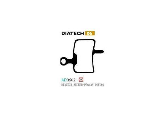 Ashima Bremsbeläge Semi Metal Diatech Anchor Promax Set 4 Belägen