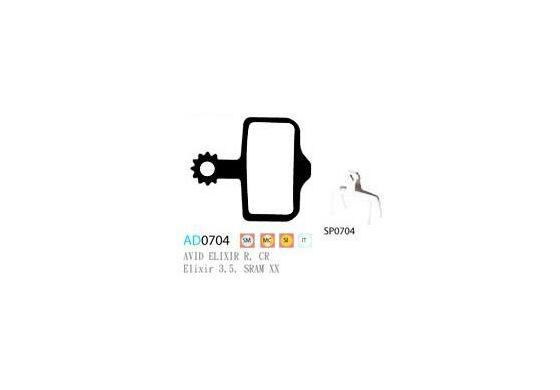 Ashima Semi Metal Bremsbeläge für Avid Elixir Set