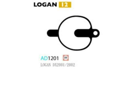 Ashima Bremsbeläge Semi Metal für Logan DX Set mit 4 Belägen