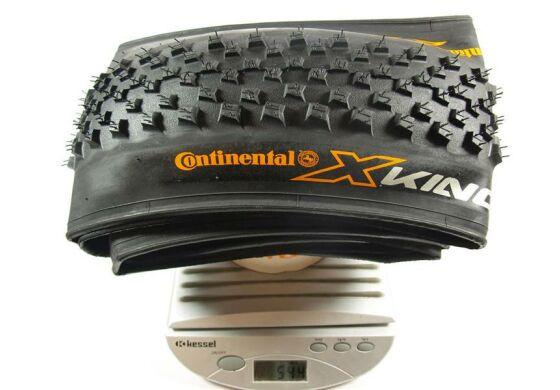 Continental Fahrradreifen X-King Race Sport schwarz/schwarz Skin 55-584  27,5 x 2,2