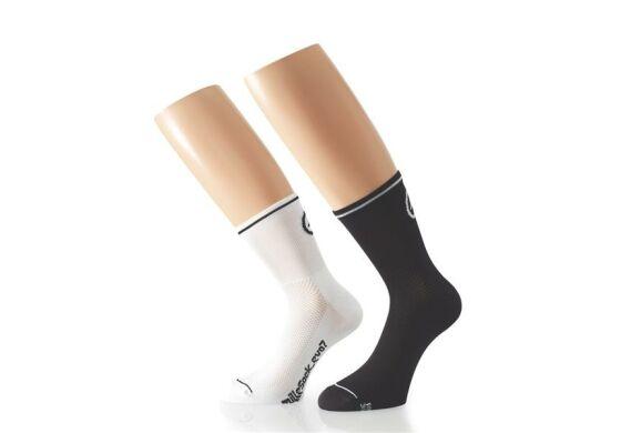 Assos Mille Sock Evo7 Twinnpack 2 Paar
