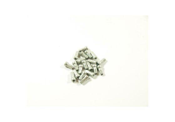 Alu Nippel invers 2,0mm x 10mm Kopfdurchmesser 5mm