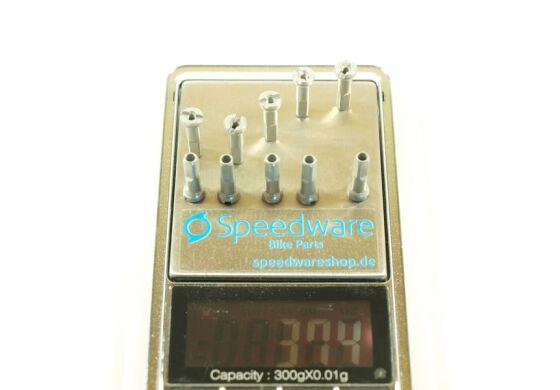 Sapim Polyax Alu Nippel 2x16mm