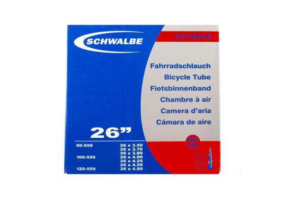 Schwalbe Fatbike Fahrradschlauch Nr.13J 26x3,5-4,8 (SV40mm)