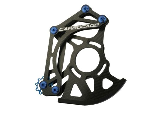 Carbocage DH Carbon Kettenführung
